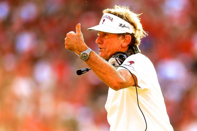 South Carolina Head Coach Steve Spurrier Trolls the Tennessee Volunteers