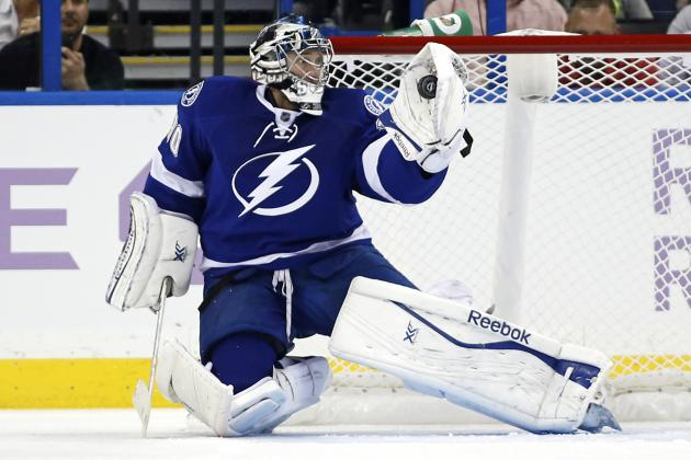 Lightning Goalie Ben Bishop 'Feeling the Vibe'