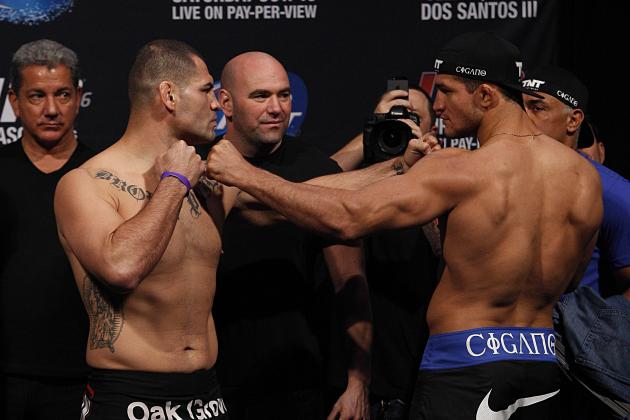 UFC 166 Start Time: When and Where to Watch Velasquez vs. Dos Santos 3