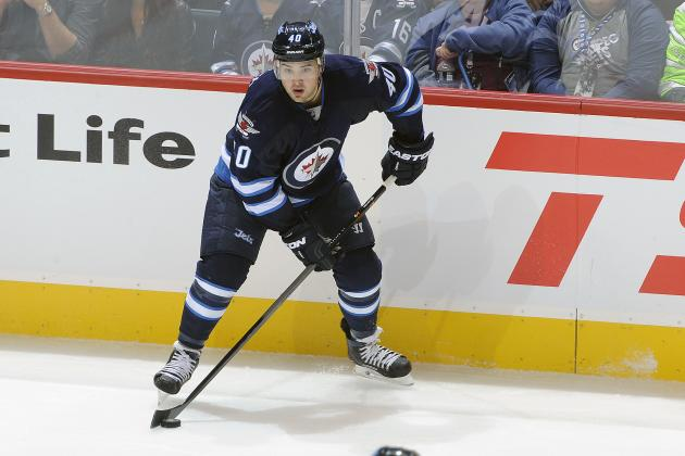 Jets' Setoguchi Scratched Against Blues