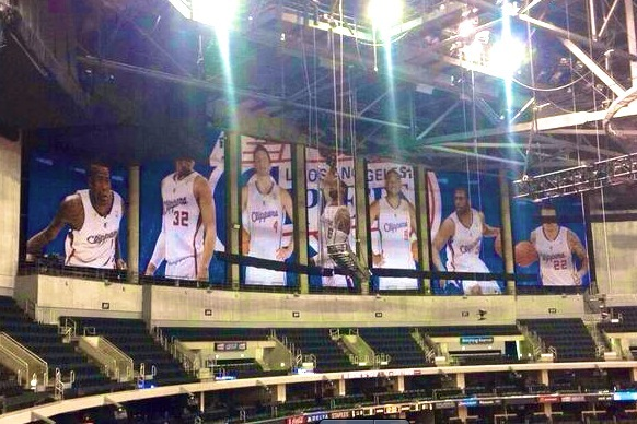 Clippers Will Hide Lakers' Banners at Staples Center Home Games