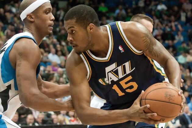 Derrick Favors Reaches Agreement on Contract Extension with Jazz