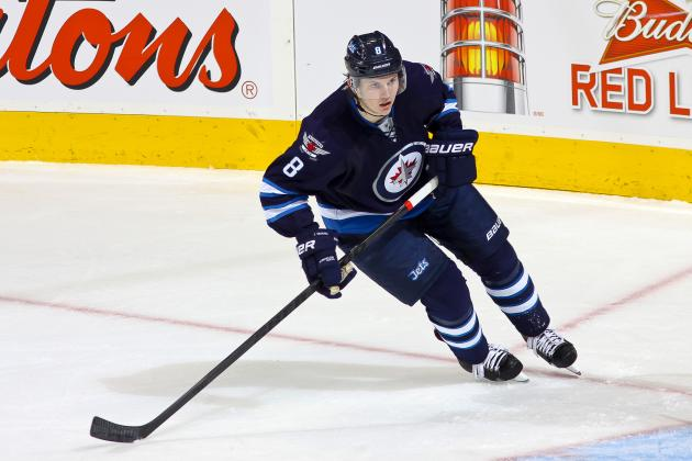 Jacob Trouba Stretchered off After Suffering Head Injury