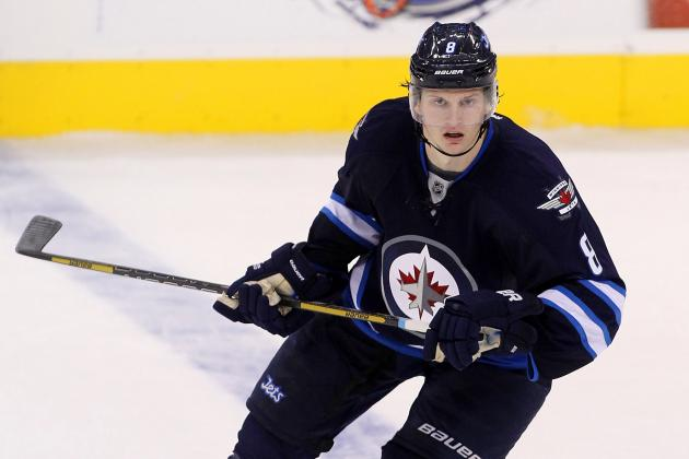 Video: Jacob Trouba Stretchered off After Face-First Fall into Boards