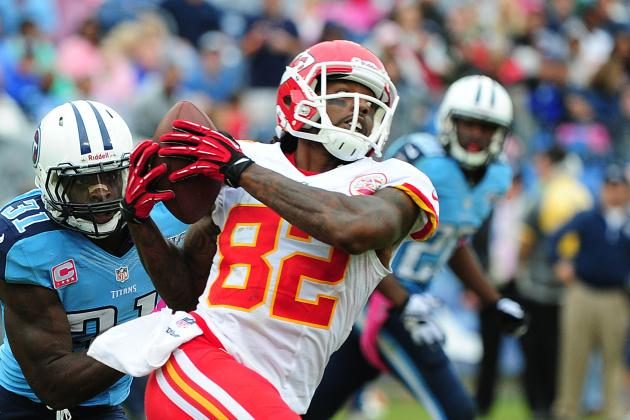 Chiefs Wide Receiver Dwayne Bowe OK Trading Stats for More Wins