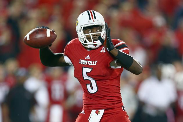 Teddy Bridgewater: Updated 2014 NFL Draft Stock, Heisman Odds After Loss vs. UCF