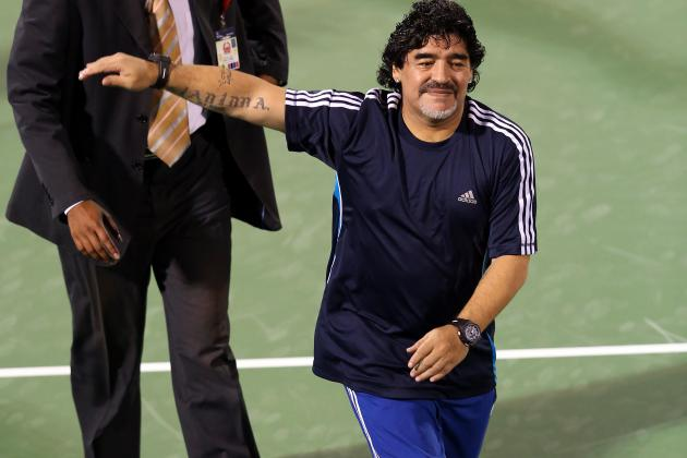 Diego Maradona Reportedly Given £33m Tax Bill by Italy's Tax Collection Agency