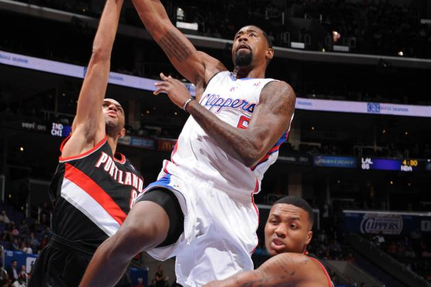 VIDEO: DeAndre Jordan Throws Down Alley-Oop, Hits Darren Collison