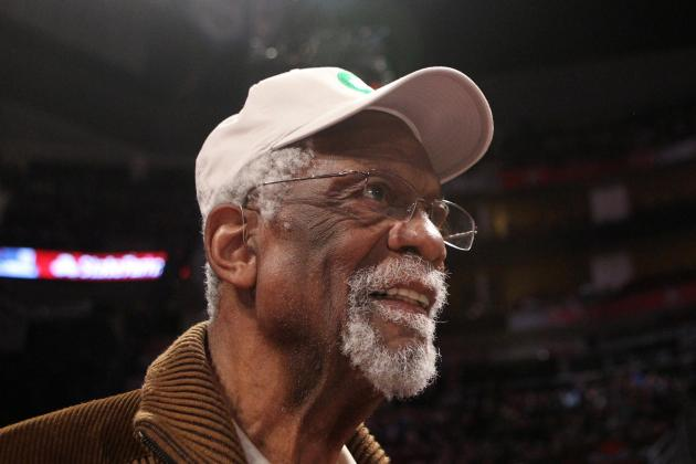 Reports: Bill Russell Arrested After Loaded Gun Was Found at Airport