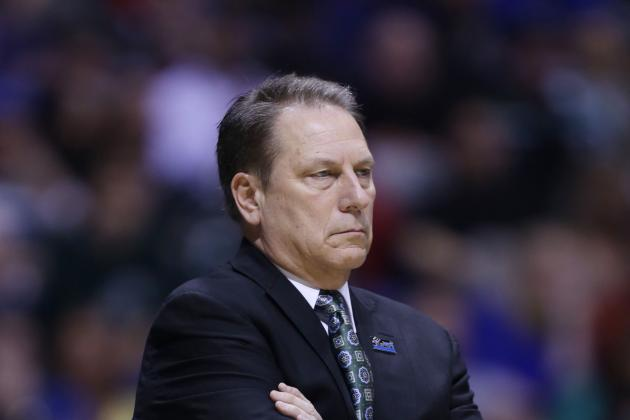 Michigan State's Tom Izzo Gets Shot out of a Cannon? (VIDEO)