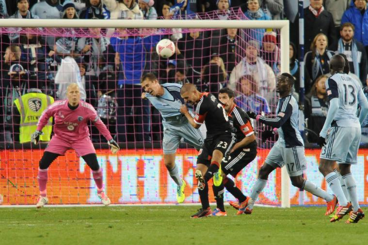 Sporting KC Leapfrogs NY with Win