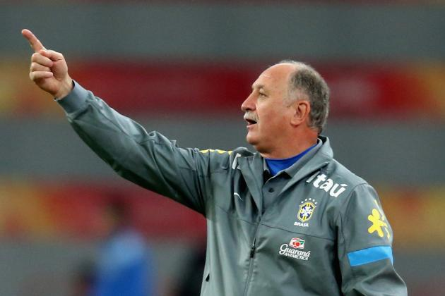 International Break Papers over Cracks in Luiz Felipe Scolari's Brazil Side