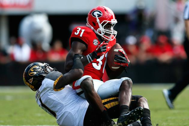 Georgia vs. Vanderbilt: Live Game Grades and Analysis for the Bulldogs