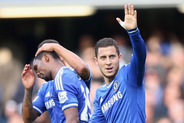 GIF: Samuel Eto'o Cheekily Steals Ball off Goalkeeper for Chelsea Equaliser