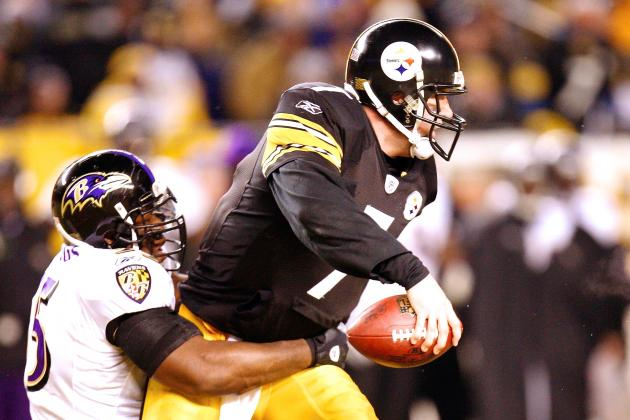 Can the Steelers Withstand the Ravens' Pass Rush?