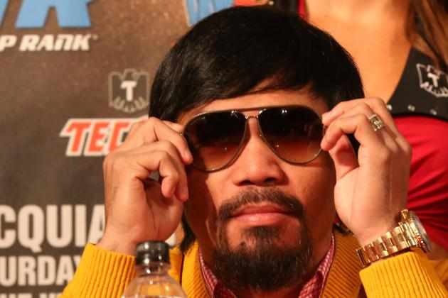 Manny Pacquiao Must Knock out Brandon Rios to Prove Elite Status
