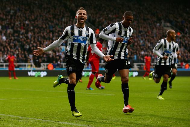 Yohan Cabaye's Strong Performance Will Only Hasten Newcastle Exit