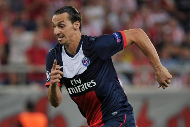 Zlatan Ibrahimovic Scores Ridiculous Backheel Goal for PSG vs. Bastia