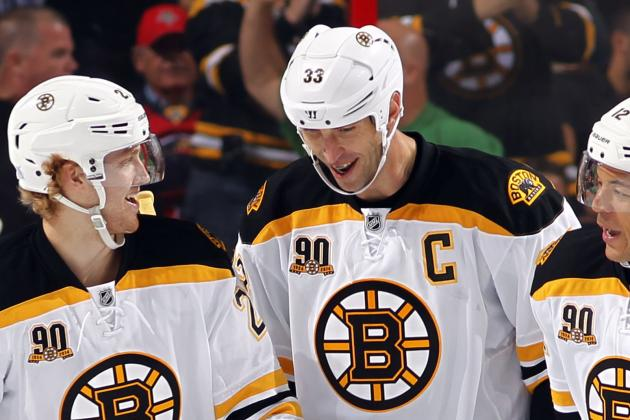 Bruins Making Concerted Effort to Rest Chara