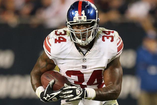 Brandon Jacobs Questionable vs. Vikes
