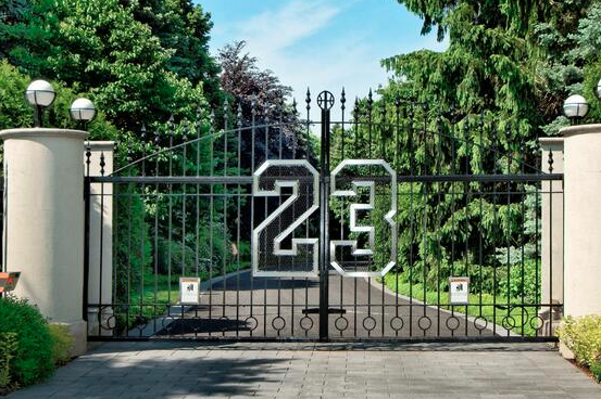 Michael Jordan's Lavish Chicago-Area Mansion Goes to Auction