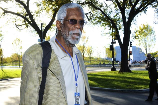 Bill Russell Detained in Airport After Gun Is Found in Luggage