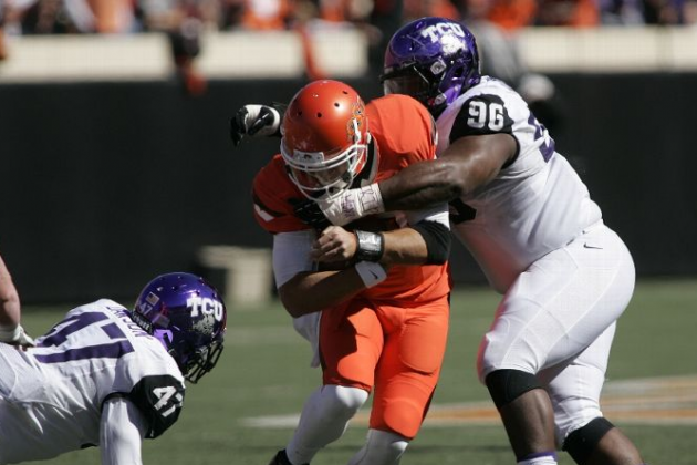 Oklahoma State QB switch pays off vs. TCU