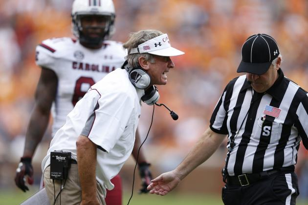 Worst SEC Coach in Week 8: Steve Spurrier, Mark Richt or Will Muschamp?