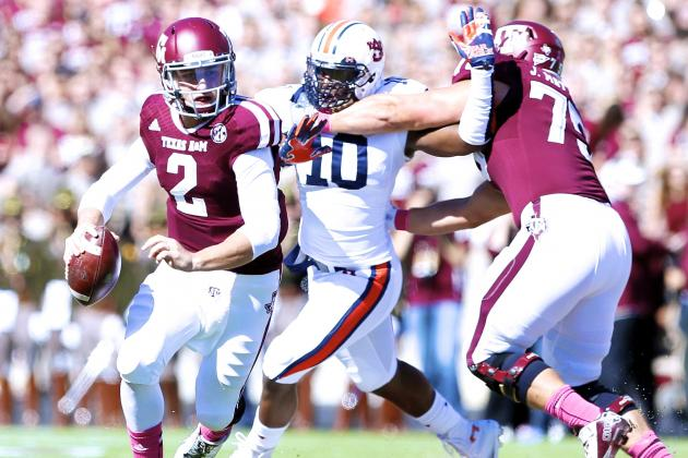 Auburn vs. Texas A&M: Live Score and Highlights