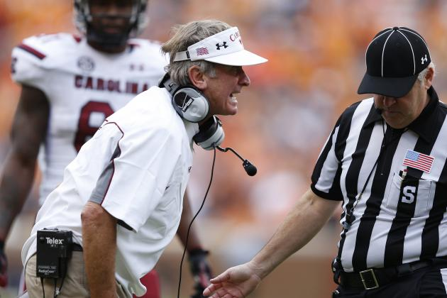 Tennessee Ends South Carolina's BCS Chances, Why Steve Spurrier Is to Blame