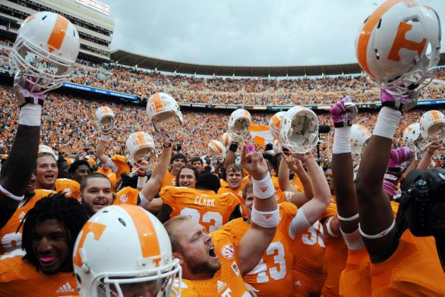 Tennessee Is Back, South Carolina Upset Shows Butch Jones' Vols Are Here to Stay