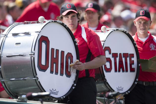 Video: Ohio State's Band Did an Awesome Collective Moonwalk Today