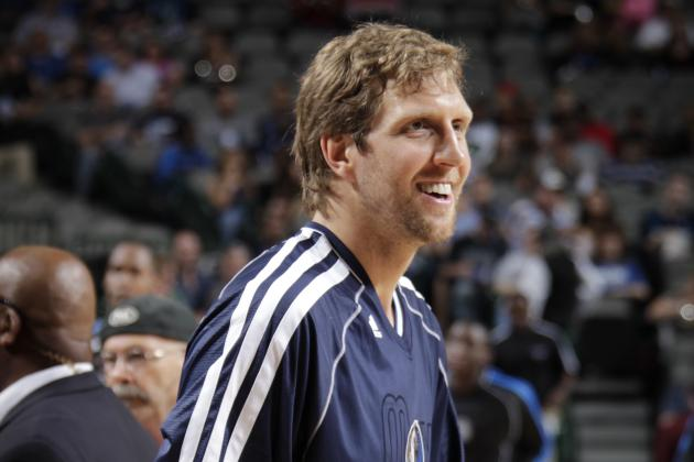 Nowitzki to Sit Saturday vs. Bobcats