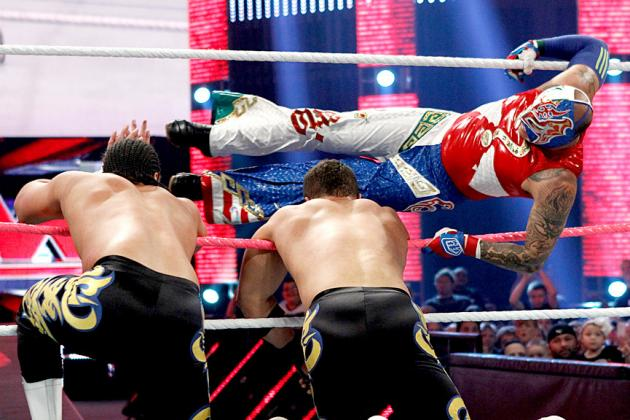 Rey Mysterio Makes His Return to the Squared Circle