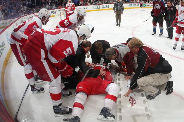 Niklas Kronwall Feels Better, Blames Himself for Getting Injured on Hit