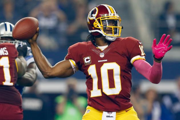 Bears vs. Redskins: Projecting Stats for Top Fantasy Stars
