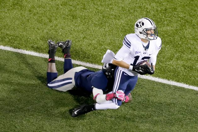 BYU Cougars Get Old-Fashioned Shootout Win Over Houston Cougars