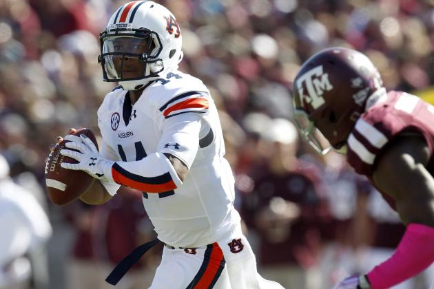 Auburn QB Nick Marshall Emerges as a New Star in the SEC in Win over Texas A&M