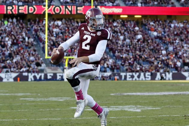 Johnny Manziel's Updated 2013 Heisman Outlook After Loss to Auburn