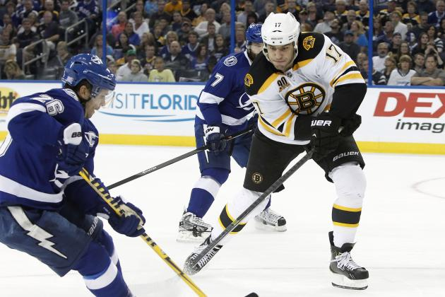 Boston Bruins vs. Tampa Bay Lightning: GameCast