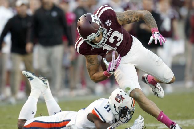 Auburn vs. Texas A&M: Mike Evans Proves He's Nation's Best WR with Record Game