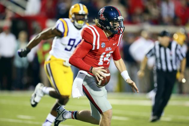 Bo Wallace Plays Game of Life, Becomes a Star as Ole Miss Upsets LSU