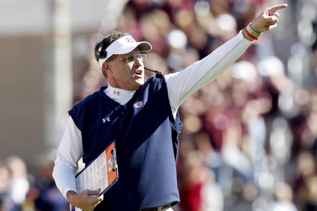 Gus Malzahn Is New Front-Runner for Coach of the Year After Upsetting Texas A&M