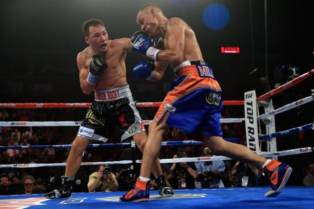 Provodnikov Goes to War and Stops Alvarado to Capture Junior Welterweight Title