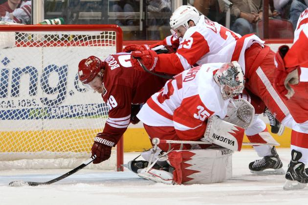 Phoenix 5, Detroit 2: Red Wings Start Strong, Finish Weak in Loss to Coyotes