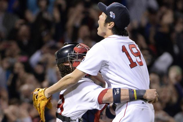 Koji Uehara Named ALCS MVP After Red Sox Win Game 6