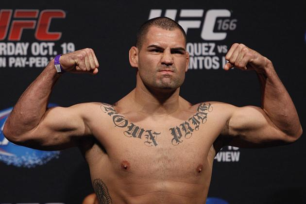 Cain Velasquez Retains UFC Heavyweight Title vs. Junior dos Santos via TKO