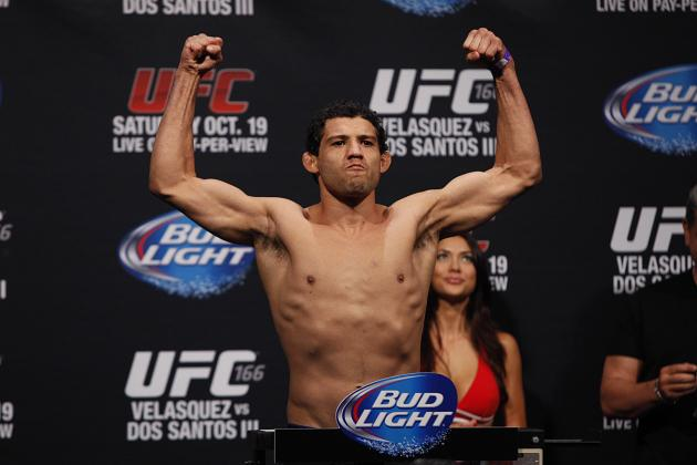 UFC 166: 3 Fights for Gilbert Melendez Take Next