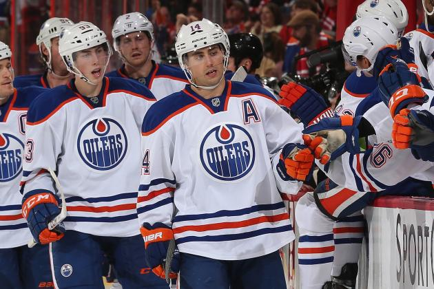 Nugent-Hopkins Scores 2 in Oilers Win over Sens