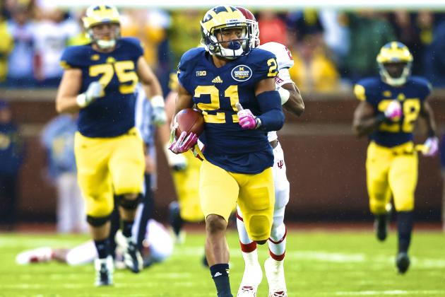 Michigan's Jeremy Gallon Sets Big Ten Record for Most Receiving Yards in a Game